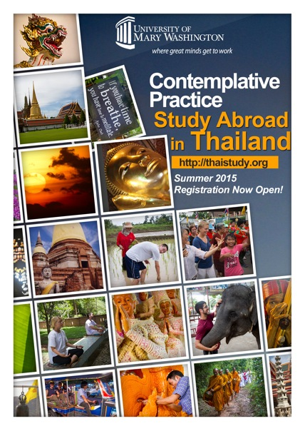 Summer 2015 Study Buddhism In Thailand Through University Of Mary Washtingon
